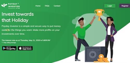 online savings platforms in Nigeria - payday