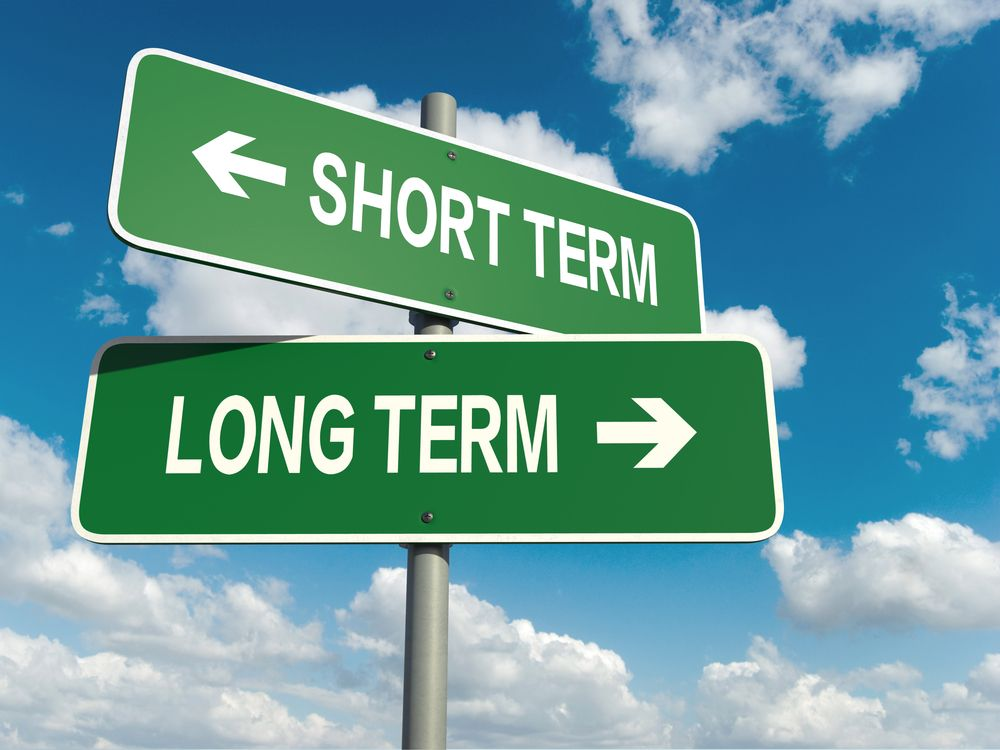 short-term investments or long-term investments