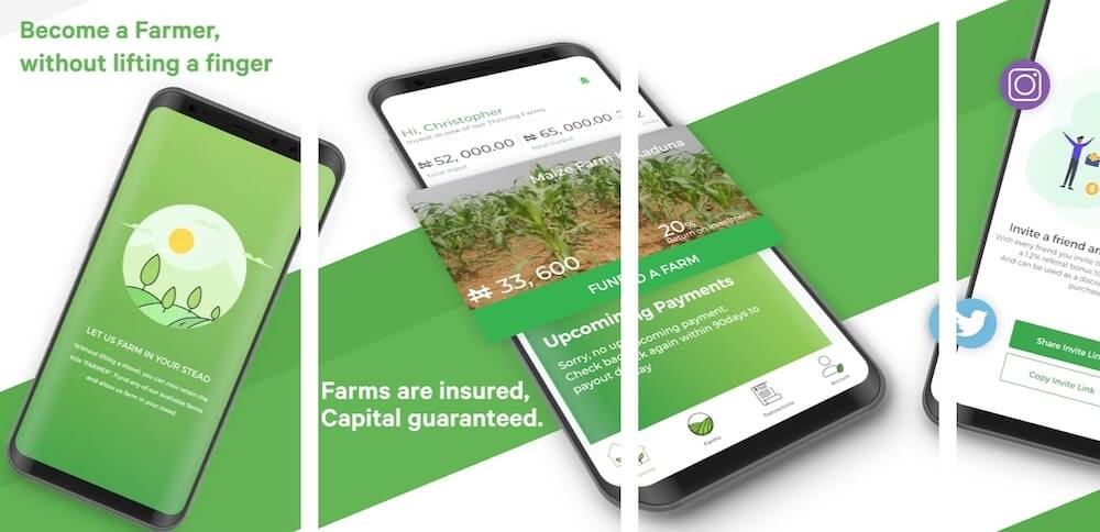 Thrive Agric app